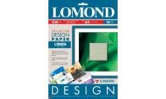 """Фотобумага Lomond A4 230г/м2, Premium глянц. с дизайном """"Лён"""", 10л"""