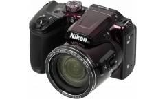 "Фотоаппарат Nikon CoolPix B500 фиолетовый 16Mpix Zoom40x 3"" 1080p SDXC/SD/SDHC CMOS 1x2.3 1minF turLCD VF HDMI/WiFi/EN-MH2"