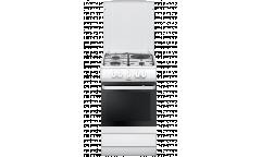Плита Комбинированная Hansa FCMW53040 белая