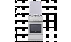 Плита комбинированная De luxe 506031.00гэ(кр) белая