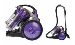 Пылесос MercuryHaus MC-6696 фиолетовый 2800 Вт колба3л трубка металл