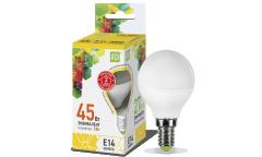 Лампа светодиодная ASD LED-ШАР-standard 5Вт 160-260В Е14 3000К