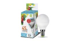 Лампа светодиодная ASD LED-ШАР-standard 5Вт 160-260В Е14 4000К