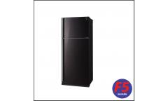 Холодильник Sharp SJ-XP59PGRD черное стекло/красный (двухкамерный)