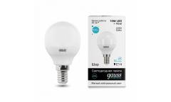 Лампа светодиодная GAUSS _P45_10W/4100K_E14 _шар