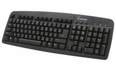 Клавиатура Smartbuy SBK-108P-K 108 PS/2 черная