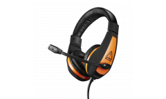 Гарнитура CANYON Gaming headset 3.5mm jack with adjustable microphone and volume control, cable 2M