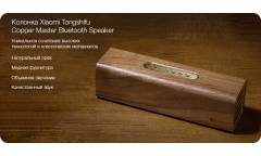 Беспроводная (bluetooth) акустика Xiaomi Tongshifu Copper Master Bluetooth Speaker