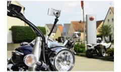 Штатив присоска Hama TravelFlex 4371 настольный черный алюминиевый сплав (110гр.)