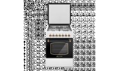 Газовая плита Lofratelli OGG 6040 D OW  бежевая,верх4газ конфорки,реш эмал.металл,низ-газ 54л,газконтроль,гриль, RUSTIC