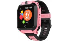 Детские смарт-часы GEOZON Basic Pink (розовый)G-W08PNK c 4G
