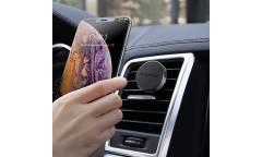 Автодержатель Borofone BH8 Air outlet magnetic in-car holder Black