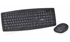 Комплект клавиатуара+мышь Smartbuy Wireless One 114348AG черный