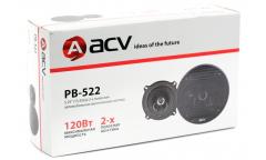 Колонки автомобильные ACV PB-522 120Вт 88дБ 4Ом 13см (5дюйм) (ком.:2кол.) коаксиальные двухполосные