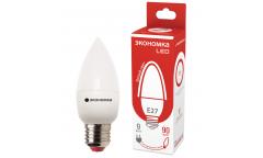 Лампа светодиодная ЭКО_Экономка _C37_9W/4500K_ E27 _СВЕЧА