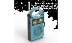 Радиоприемник Ritmix RPR-333 голубой