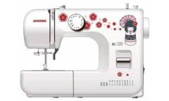 Швейная машина Janome EL120 белый/рисунок (кол-во швейных операций-25)