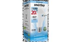 Светодиодная (LED) Лампа  Smartbuy-A80-20W/4000/E27