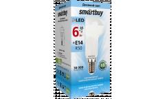 Светодиодная (LED) Лампа Smartbuy-R50-06W/4000/E14