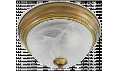 Светильник потолочный_DE FRAN_  YL2-3341-19/3YB _Е27 _5*40вт _ КЛАССИКА _старая медь  d48*h15см