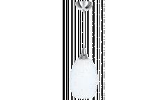 Люстра-Подвес_DE FRAN_ SP1-0941-1CH _E27 _1*60Вт _хром, стекло матовое, белое, d16*h22 см