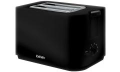 Тостер BBK TR72M черный 700Вт