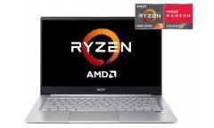 """Ультрабук Acer Swift 3 SF314-42-R35Q Ryzen 3 4300U/8Gb/SSD256Gb/AMD Radeon/14""""/IPS/FHD (1920x1080)/Windows 10/silver/WiFi/BT/Cam"""