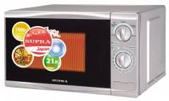 Микроволновая печь Supra 20MS15 серебро 20л 700Вт механика