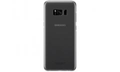 Оригинальный чехол (клип-кейс) для Samsung Galaxy S8 Clear Cover черный/прозрачный (EF-QG950CBEGRU)