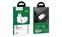 CЗУ Hoco N2 Vigour single port charger White