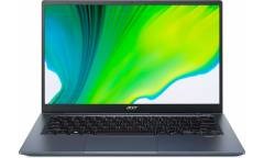 "Ультрабук Acer Swift 3X SF314-510G-782K Core i7 1165G7/16Gb/SSD512Gb/Intel Iris Xe Max 4Gb/14""/IPS/FHD (1920x1080)/Windows 10/blue/WiFi/BT/Cam/3815mAh"