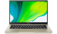 "Ультрабук Acer Swift 3X SF314-510G-74N2 Core i7 1165G7/16Gb/SSD512Gb/Intel Iris Xe Max 4Gb/14""/IPS/FHD (1920x1080)/Windows 10/gold/WiFi/BT/Cam/3815mAh"