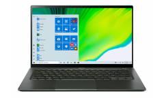 "Ультрабук Acer Swift 5 SF514-55TA-574H Core i5 1135G7/8Gb/SSD512Gb/Intel Iris Xe graphics/14""/IPS/Touch/FHD (1920x1080)/Windows 10/d.green/WiFi/BT/Cam"