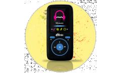 Портативный цифровой плеер Ritmix RF-4450 4Gb черный/синий