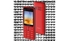 Мобильный телефон Maxvi K12 red-black