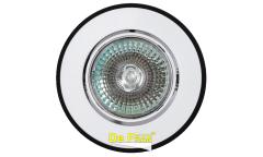 Светильник точечный_DE FRAN_ 16191 WV MR16 белый+черный