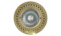 Светильник точечный_DE FRAN_ A039 GAB MR16 бронза