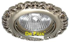 Светильник точечный_DE FRAN_ FT 1118 SN MR16 сатин-никель (SD-118 SN)