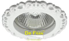 Светильник точечный_DE FRAN_ FT 1118 W MR16 белый (SD-118 W)