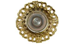 Светильник точечный_DE FRAN_ FT 1119 G MR16 золото