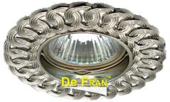 Светильник точечный_DE FRAN_ FT 1127 MR16 алюминий