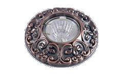 Светильник точечный_DE FRAN_ FT 1234 RAB MR16  красн.античное золото