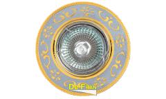 Светильник точечный_DE FRAN_ FT 183 CHG MR16 хром+золото