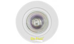 Светильник точечный_DE FRAN_ FT9947 MR16 хром+ белый