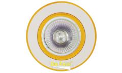 Светильник точечный_DE FRAN_ FT9948 MR16 золото+ белый