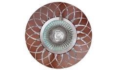 Светильник точечный_DE FRAN_ FT9955 SLCO MR16 серебро+кофейный