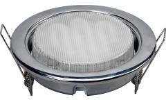 Светильник точечный_GX53_DE FRAN_FT9218 GX53 CH метал хром  без лампы