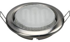 Светильник точечный_GX53_DE FRAN_FT9218 GX53 SN метал сантин-никель  без лампы