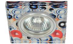 Светильник точечный_DE FRAN_ FT 766 MR16  хром+красочный микс