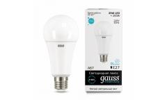Лампа светодиодная GAUSS _A67_25W/4100K_E27 _Стандарт